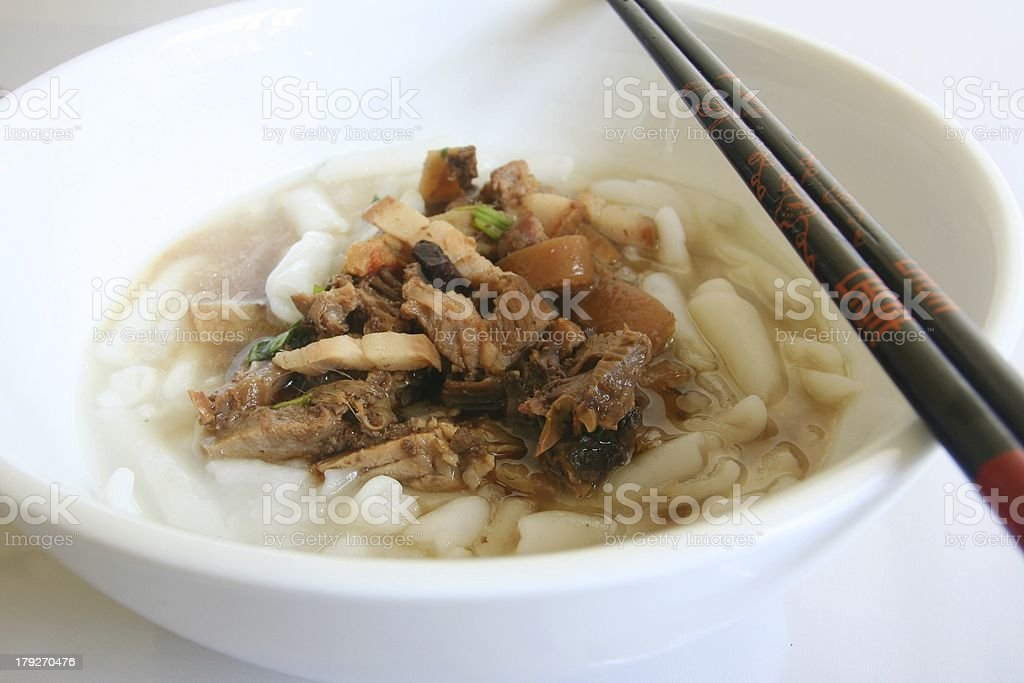 Noodle soup royalty-free stock photo