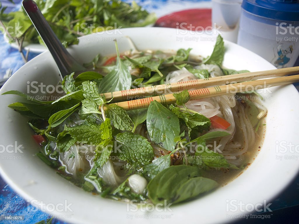 noodle soup - south east asia cuisine royalty-free stock photo