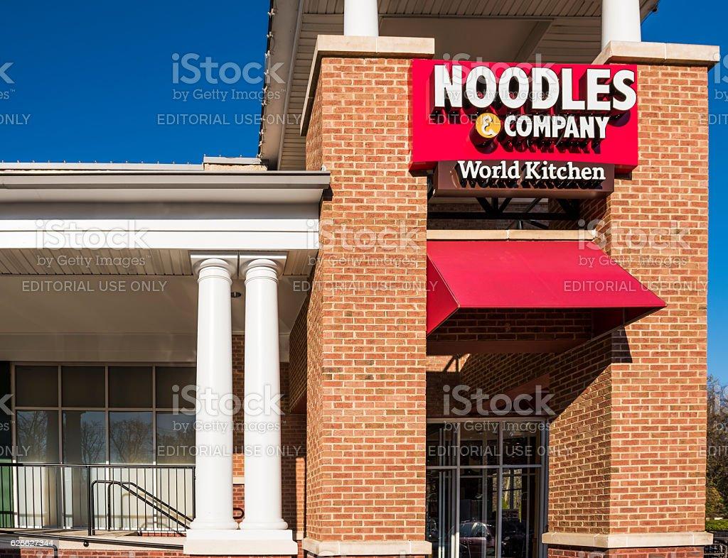 Noodles & Company World Kitchen store facade stock photo