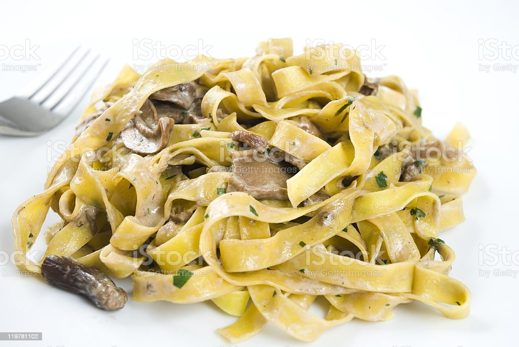 Tagliatelle royalty-free stock photo