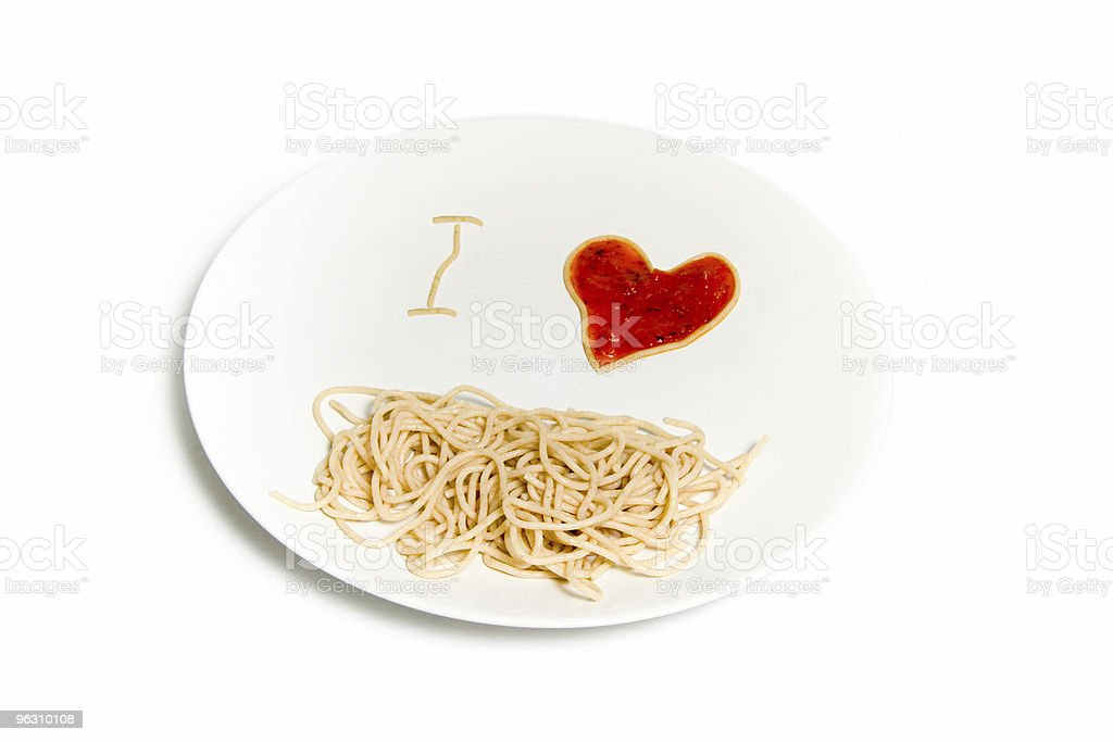 Noodles! royalty-free stock photo
