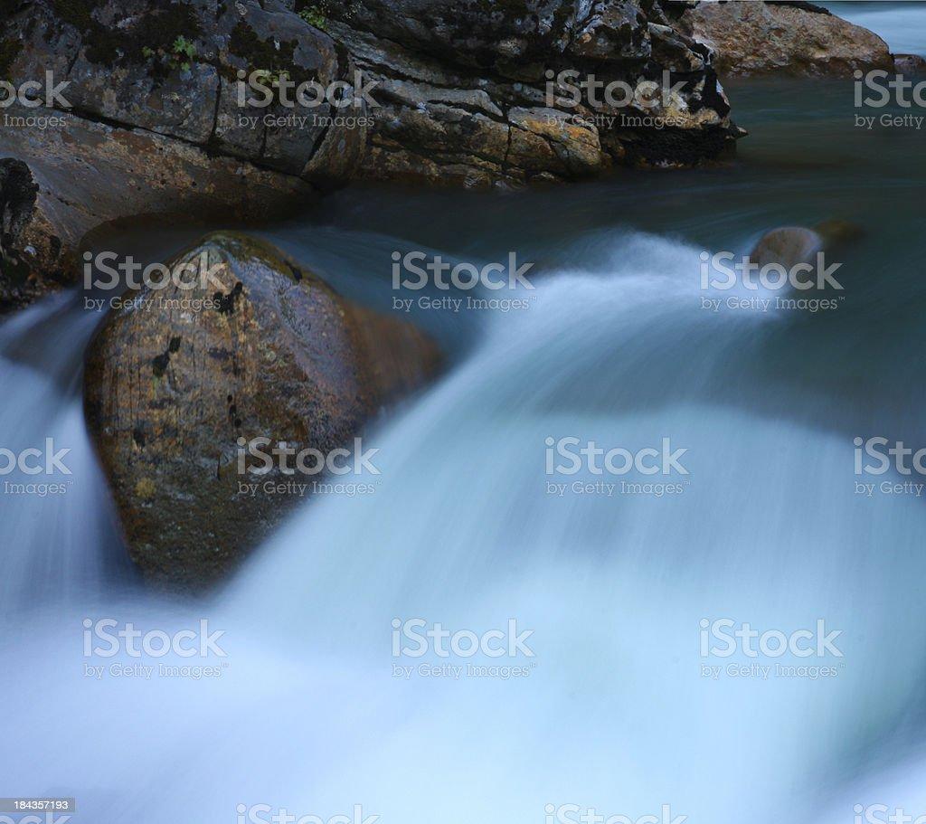Nooksack Falls royalty-free stock photo