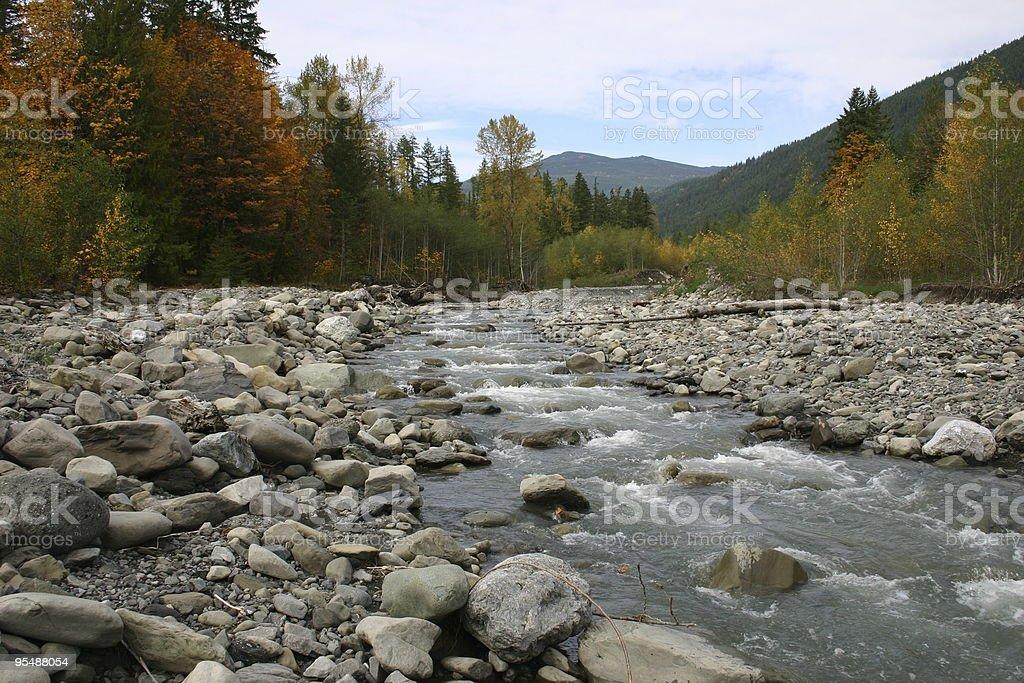 Nooksack River stock photo