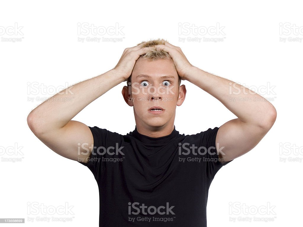 Noooo! royalty-free stock photo