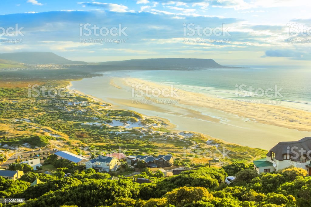 Noordhoek Beach Cape Town stock photo