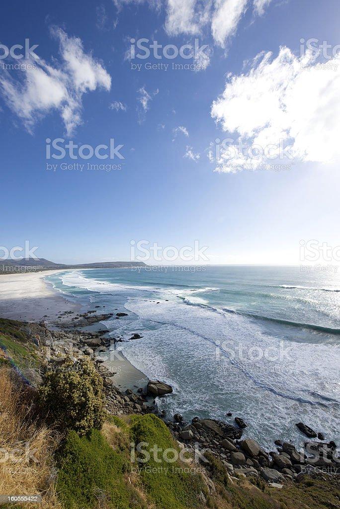 Noordhoek Beach Chapman's Peak royalty-free stock photo