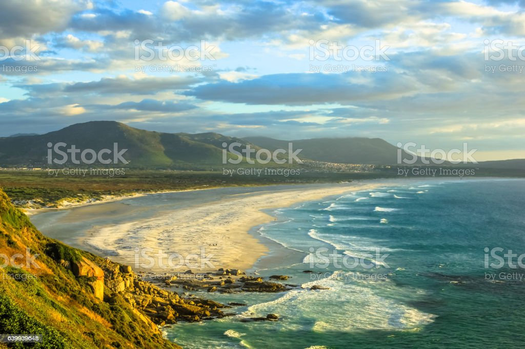 Noordhoek Beach South Africa stock photo