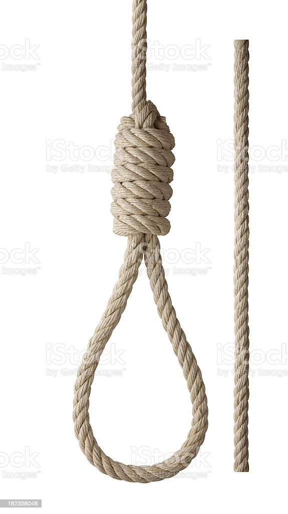 Noose royalty-free stock photo