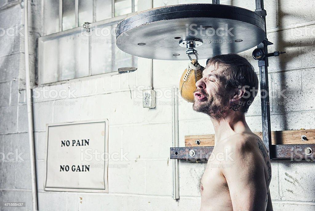 No-Pain No-Gain stock photo