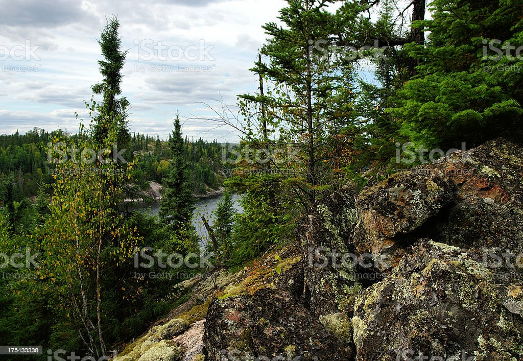 Nopiming Provincial Park royalty-free stock photo