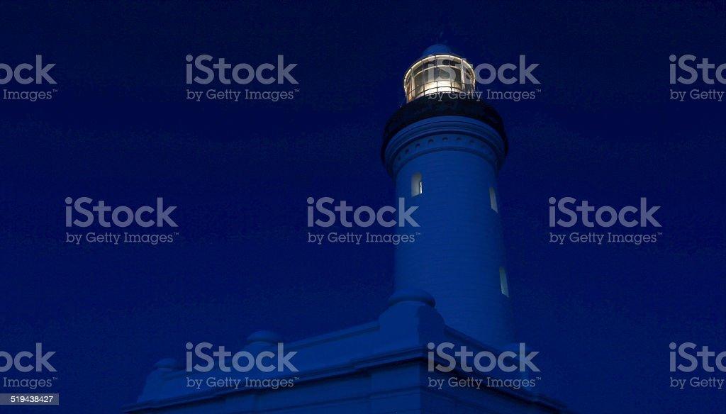 Norah Head Light during Sunset royalty-free stock photo