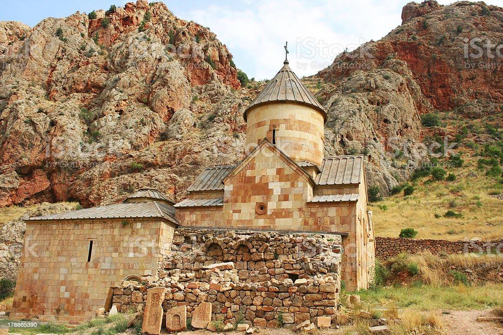 Noravank monastery stock photo