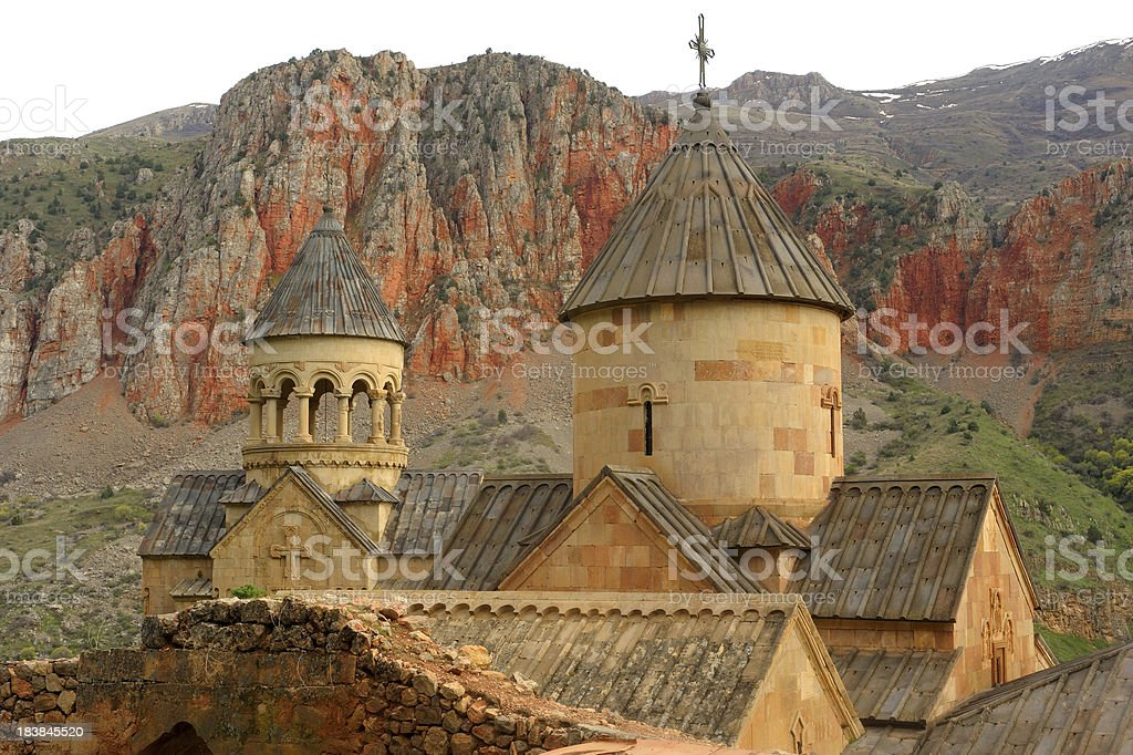 Noravank Monastery stock photo