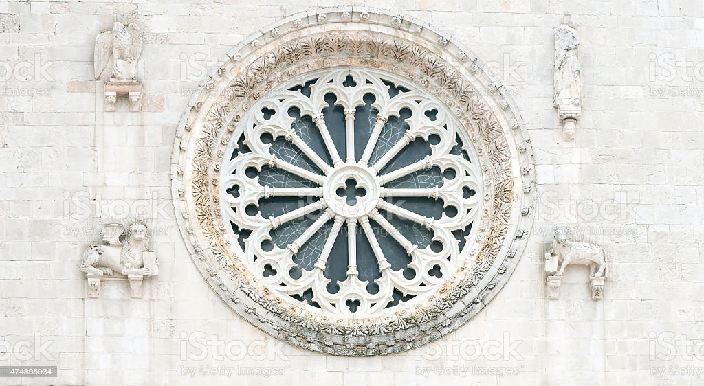 Norcia (Italy) stock photo