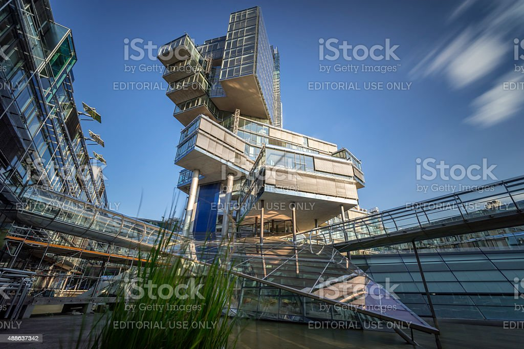 Nord Landesbank Nord LB in Hannover. stock photo