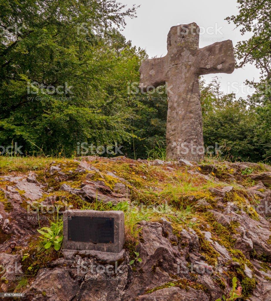 Nordic Cross stock photo