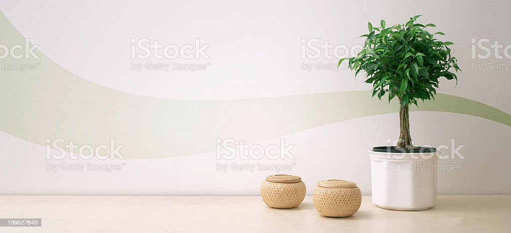 Nordic desing composition stock photo