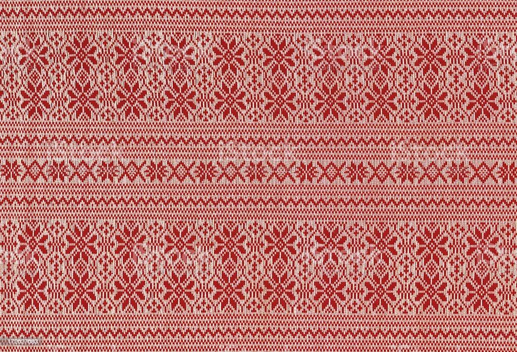 nordic fabric royalty-free stock photo