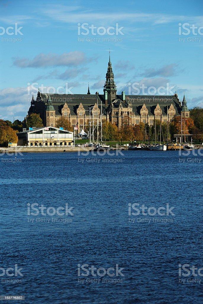 Nordic museum royalty-free stock photo