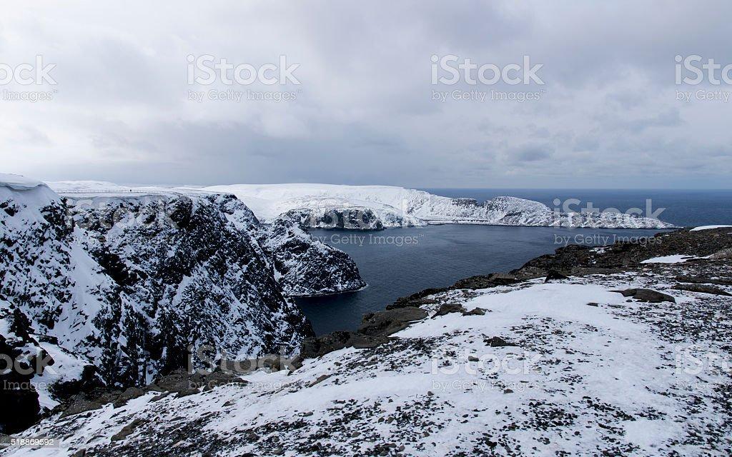 Nordkapp stock photo