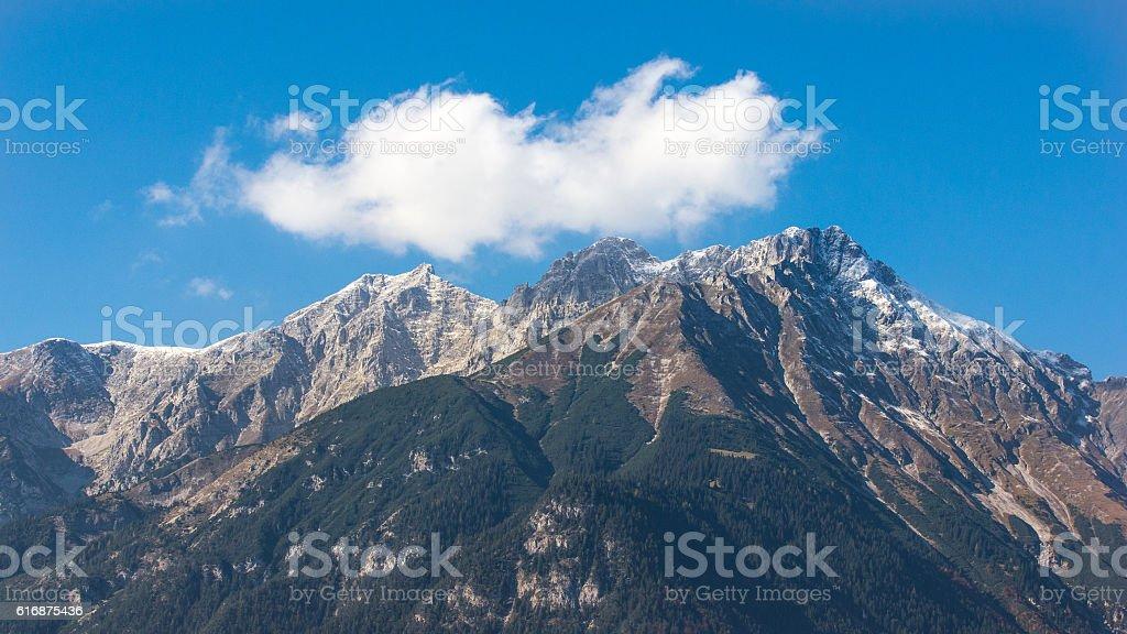 Nordkette Innsbruck stock photo