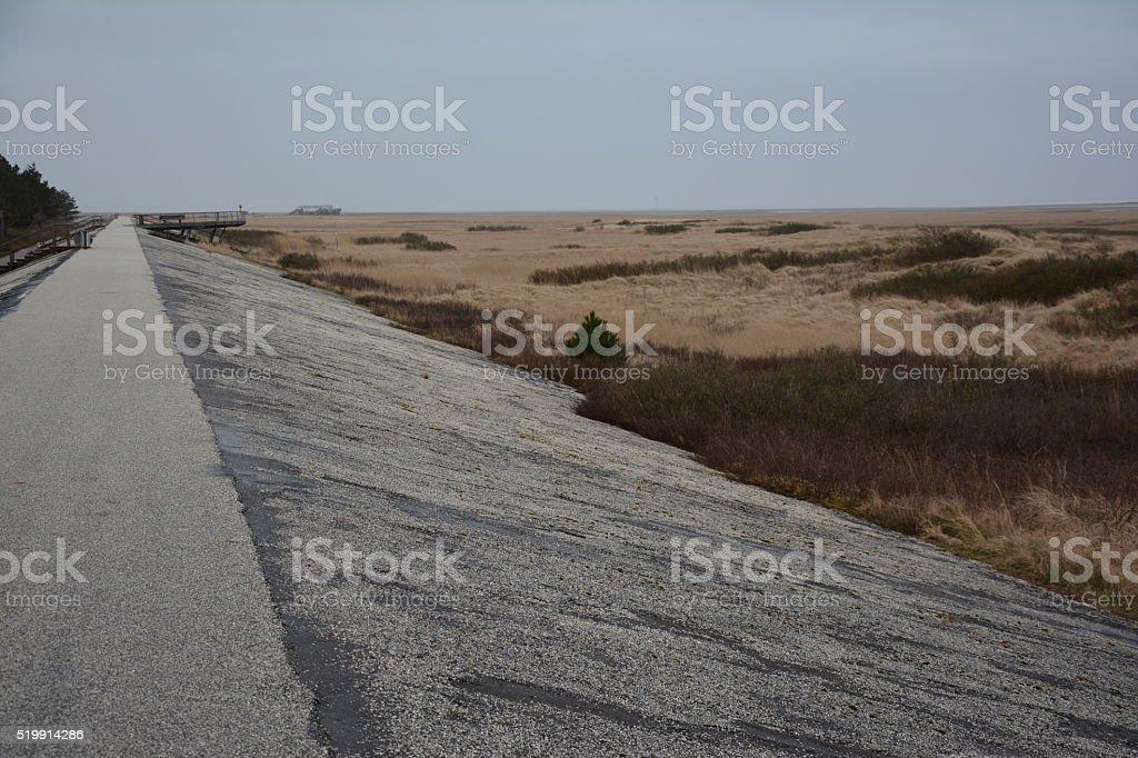 Nordsee Sankt Peter Ording stock photo