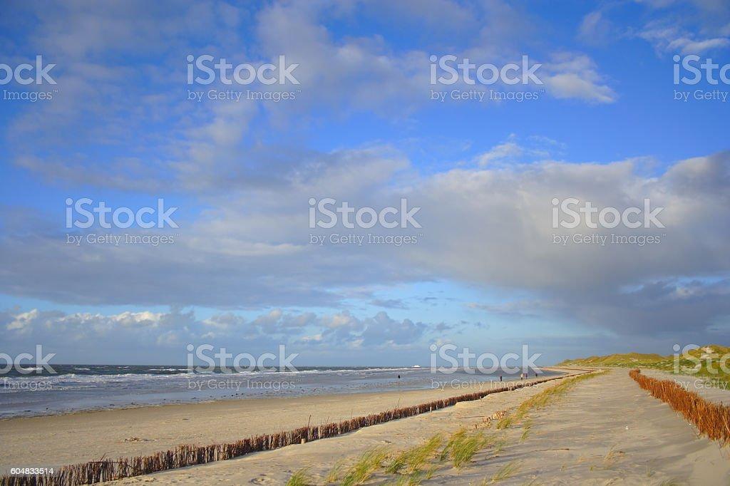 Nordseeinsel 'Amrum', Germany stock photo