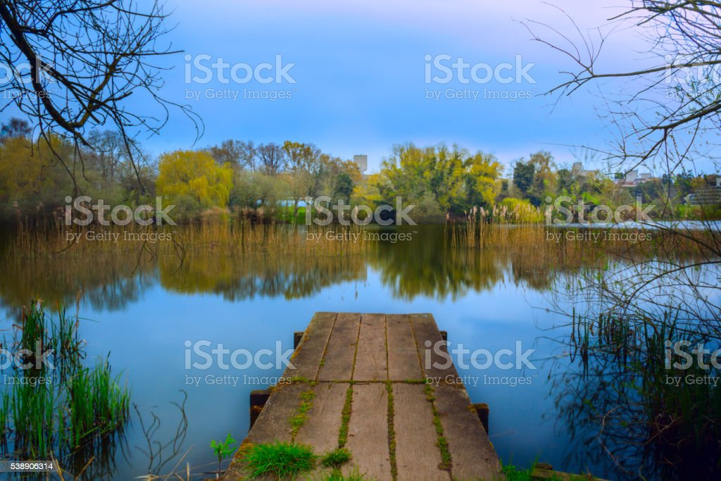 Norfolk Broads stock photo