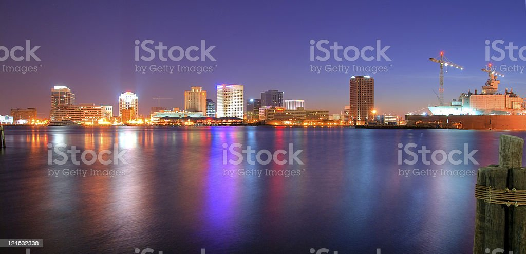 Norfolk Cityscape royalty-free stock photo
