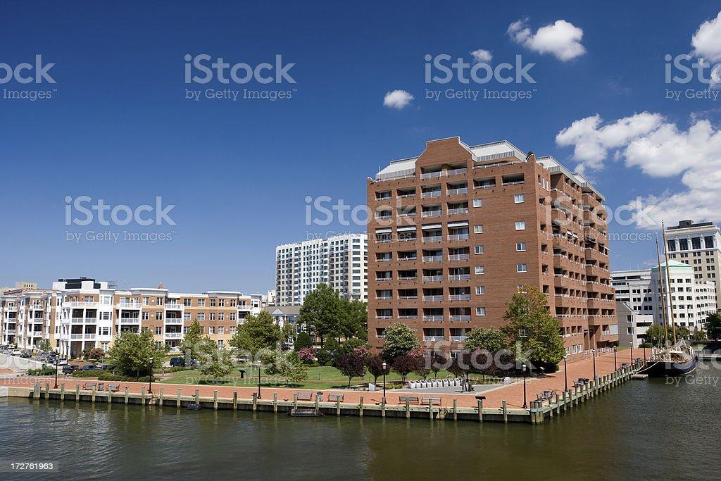 Norfolk Pier royalty-free stock photo