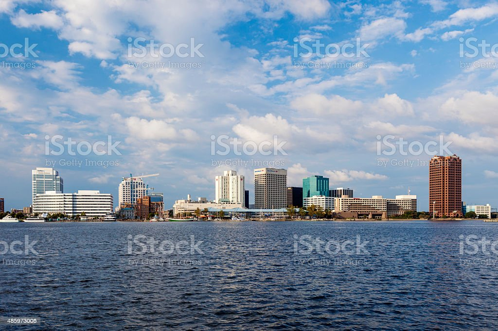 Norfolk, Virginia During The Day stock photo