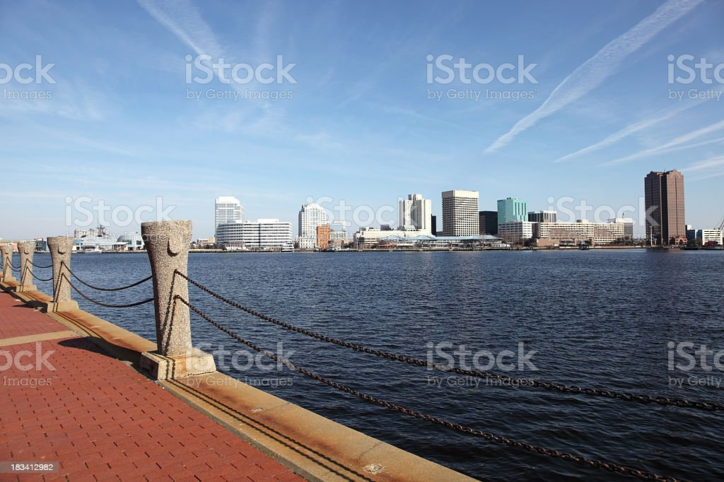 Norfolk, Virginia royalty-free stock photo