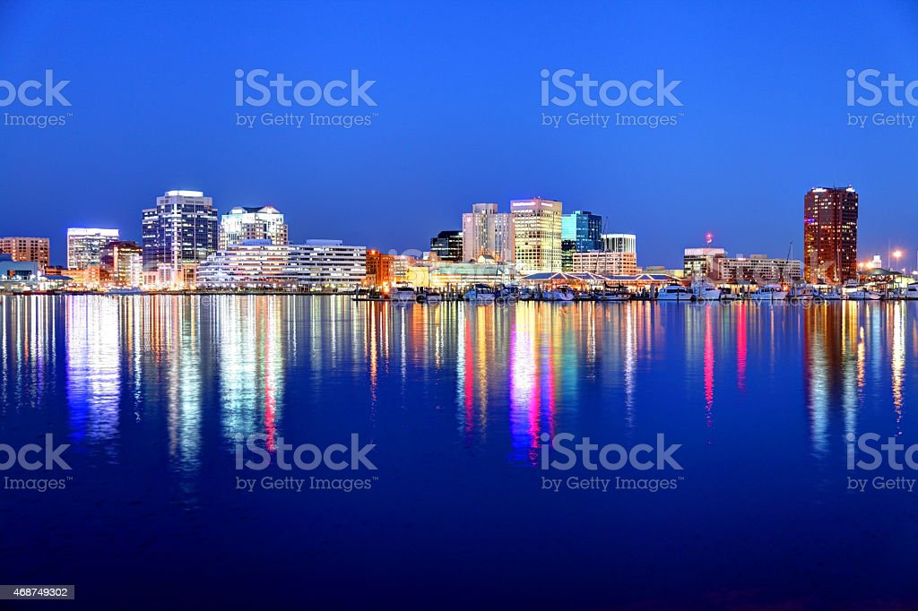 Norfolk Virginia stock photo