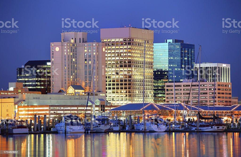 Norfolk,Virgina royalty-free stock photo