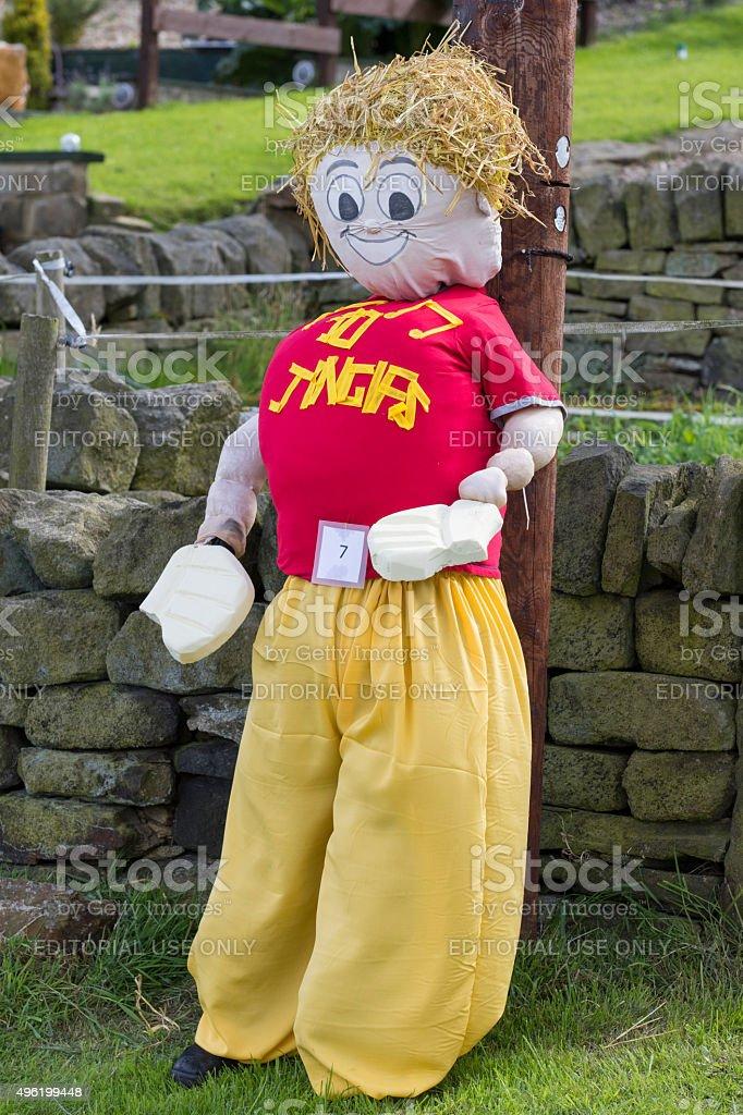 Norland Scarecrow Festival stock photo