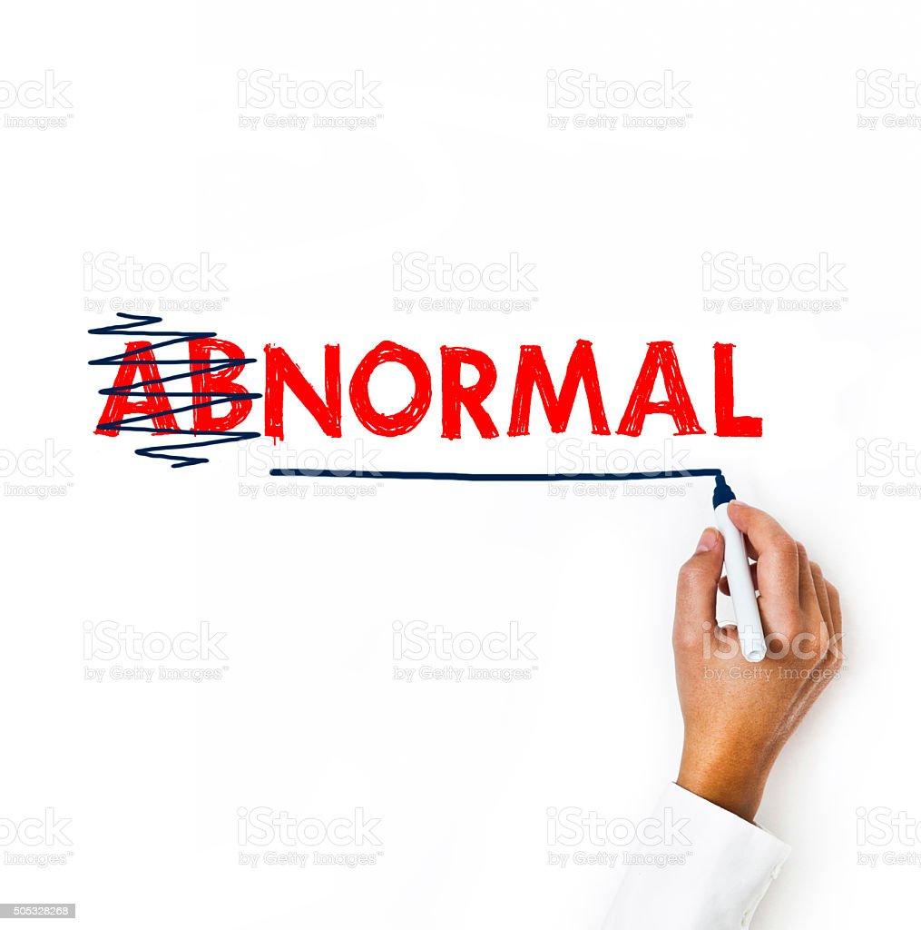 Normal / Felt tip pen Concept (Click for more) stock photo