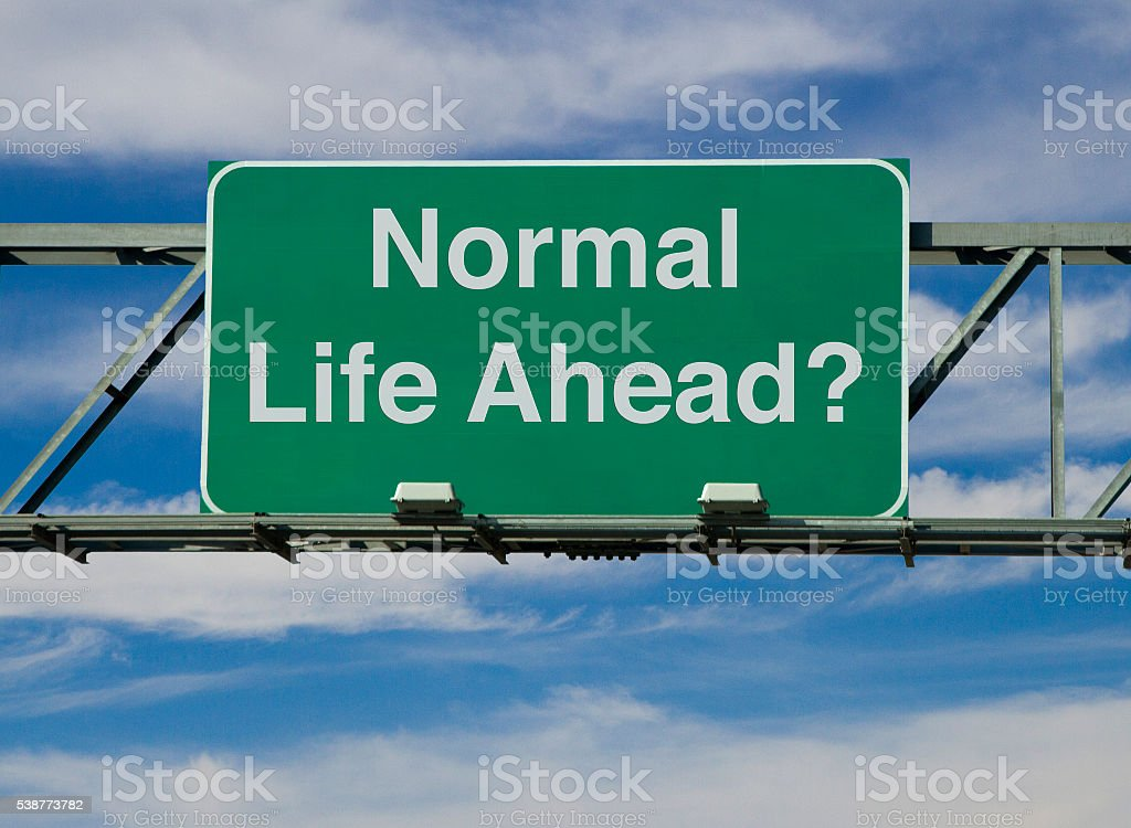 Normal Life stock photo