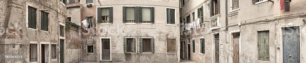 Normal streets of Venezia royalty-free stock photo