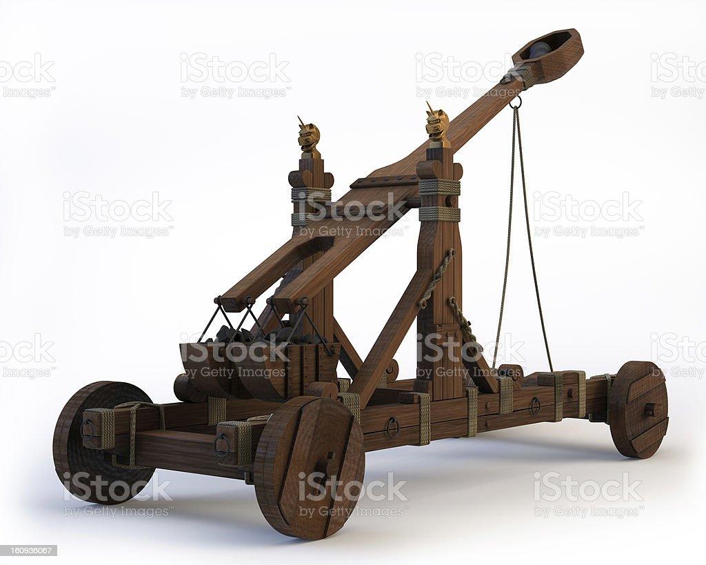 Norman Catapult stock photo