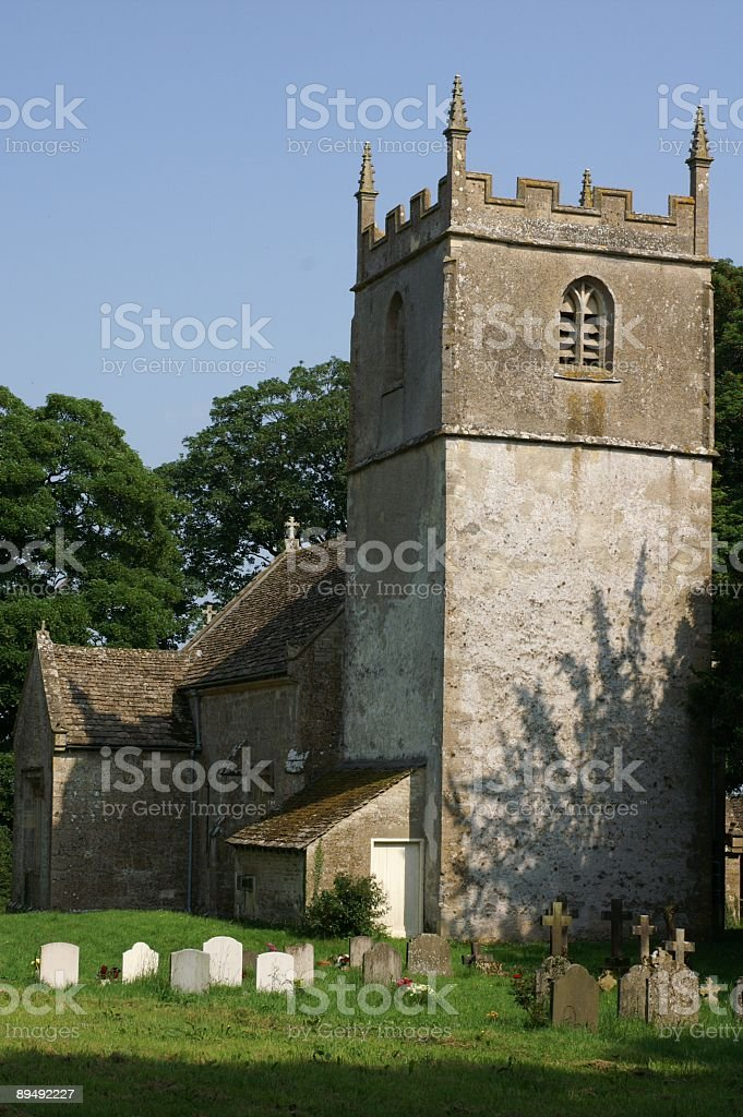 Norman Church royalty-free stock photo