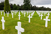 Normandy American Cemetery and Memorial in Saint Laurent sur Mer