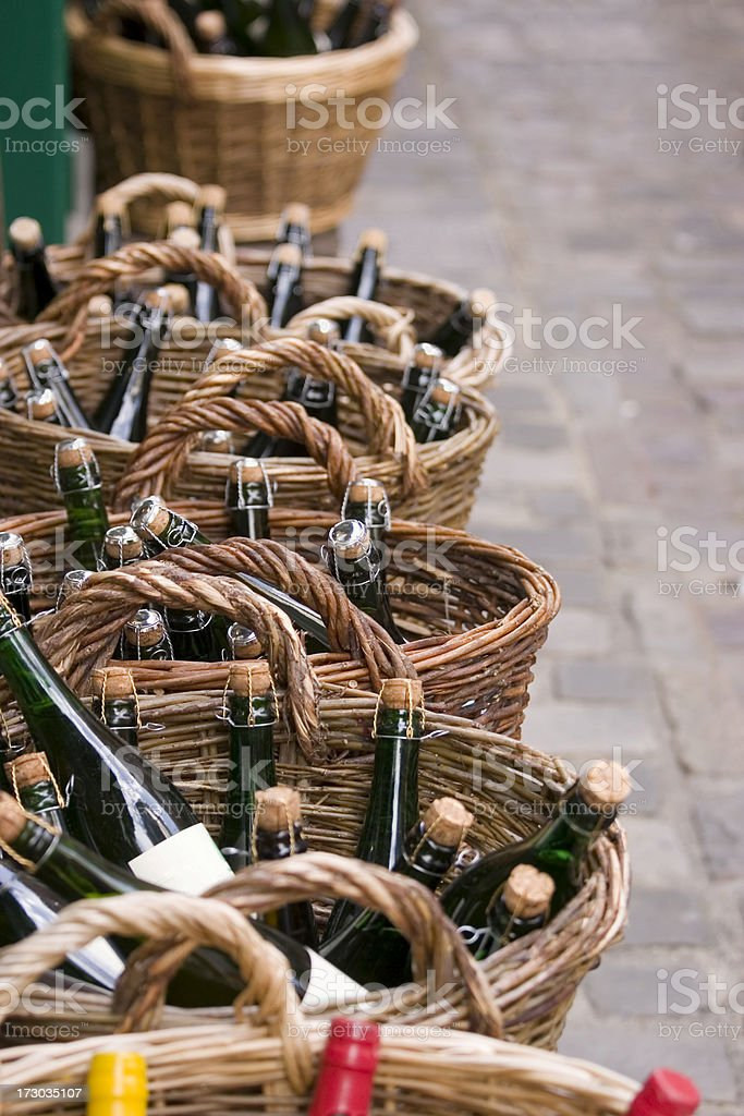 Normandy Cider stock photo