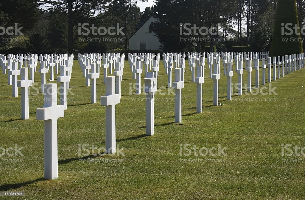 Normandy Graves stock photo