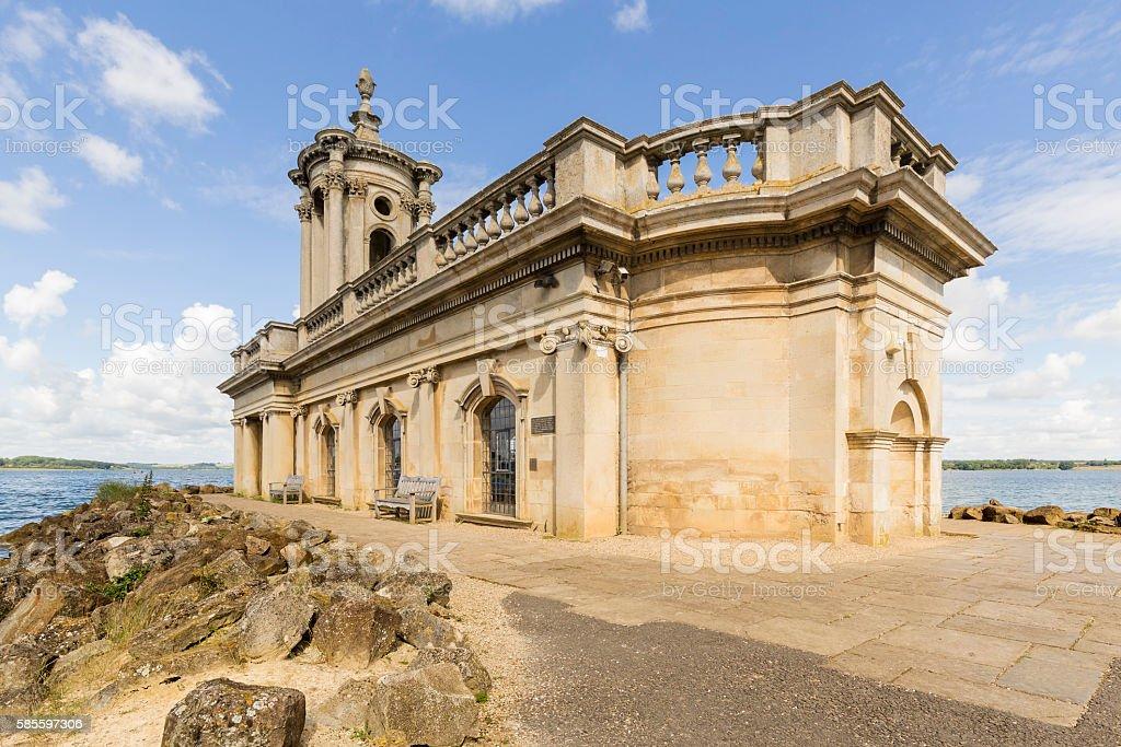 Normanton Church stock photo