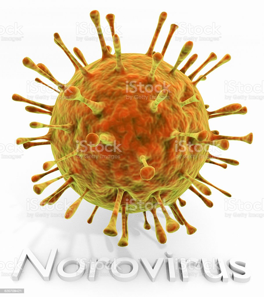 Norovirus With Text stock photo
