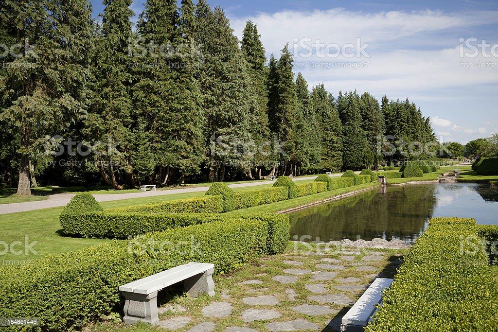 Norrviken Gardens stock photo