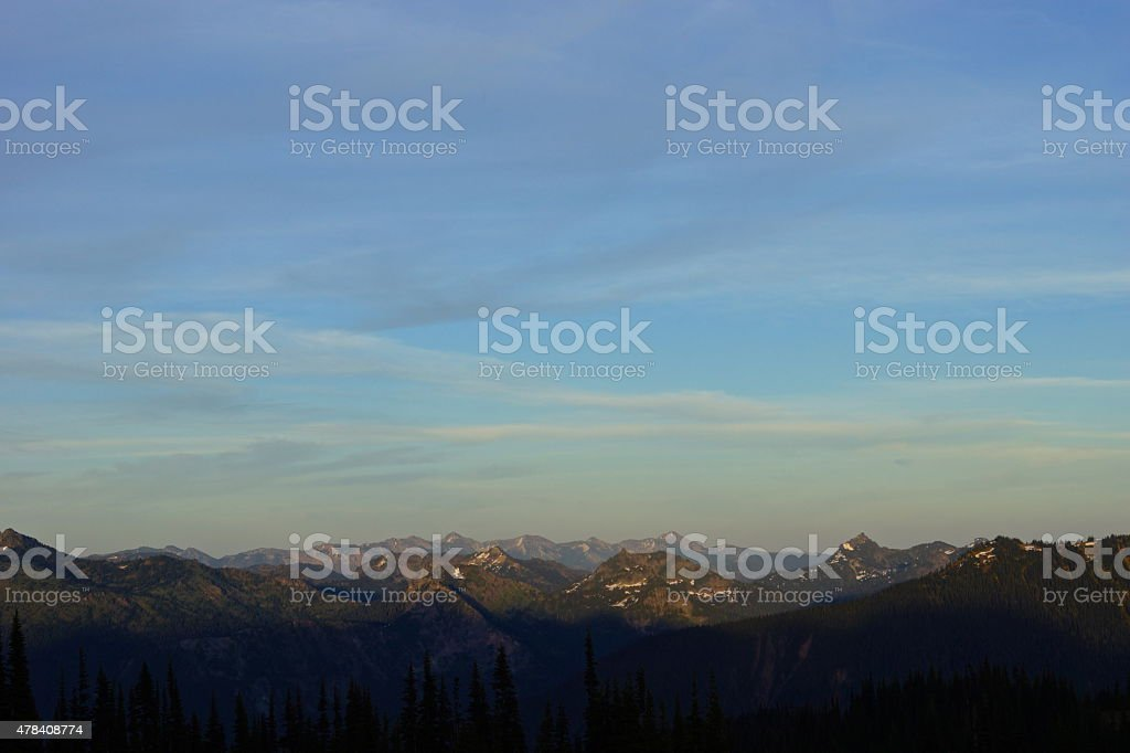 Norse Peak Wilderness stock photo
