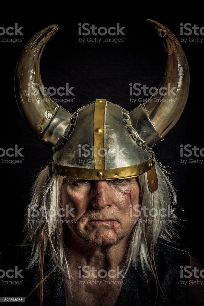 Norseman stock photo