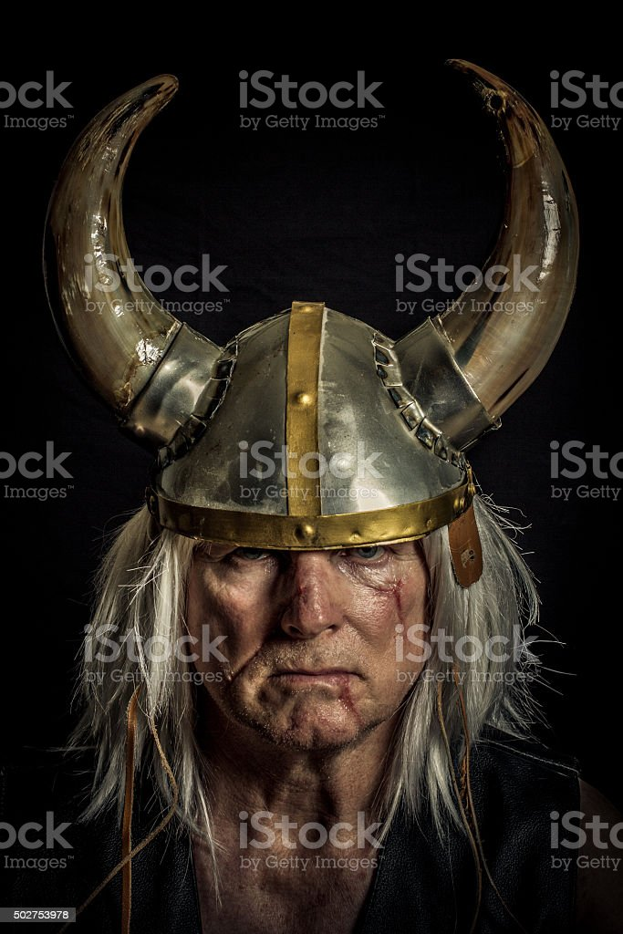 Norseman stock photo