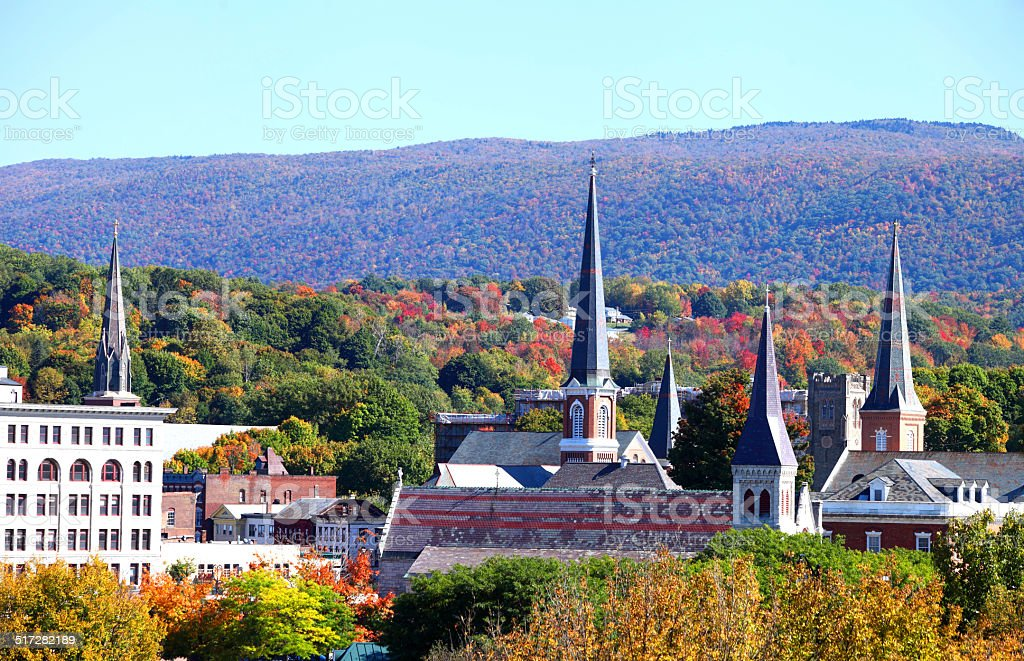 North Adams, Massachusetts stock photo